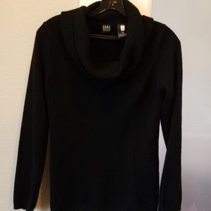 Saks fifth cashmere cowl neck sweater